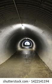 A tunnel at Jungfraujoch, Switzerland