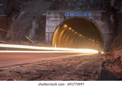 Tunnel and light painting