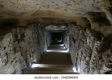 Tunnel in Serapeum of Alexandria, Alexandria City, Egypt