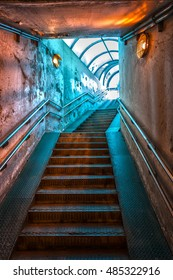 tunnel stairs