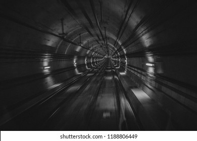 Tunnel in the subway
