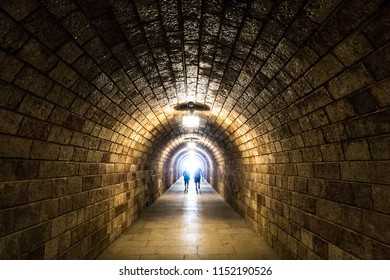 Tunnel takes visitors to elevator up to das Kehlsteinhaus aka The Eagle's Nest