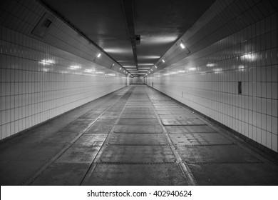 Tunnel vision B/W