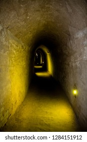 The tunnels of the underground fortress of Zhangbi Cun, near Pingyao, China. 1400 years old and stretching for more than 10 km, it is the oldest and longest network of tunnels of all of China