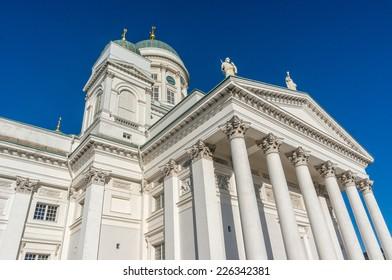 Tuomiokirkko cathedral Helsinki. Finland