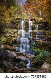 Tupavica waterfall, Stara Planina, Pirot - Shutterstock ID 739359883