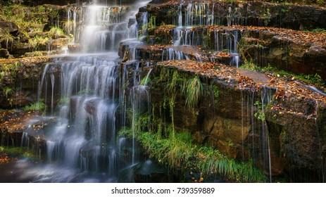 Tupavica waterfall, Stara Planina, Pirot - Shutterstock ID 739359889