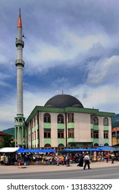 Turbe, Travnik/ Bosnia and Herzegovina - May 25 2008: The mosque