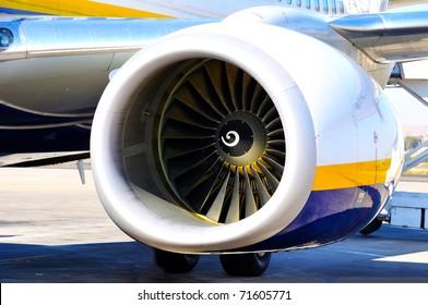turbine of aircraft