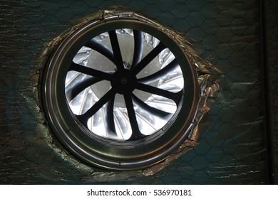 turbine hot air