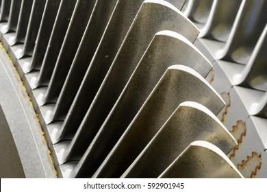Turbine shovels
