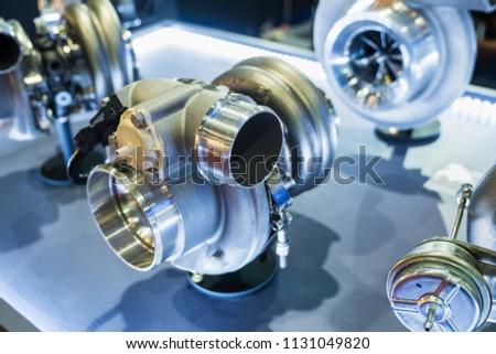turbo racing car increase strength car stock photo edit now