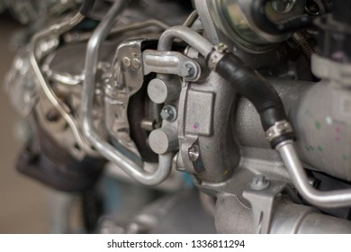Turbocharged Engine Images, Stock Photos & Vectors