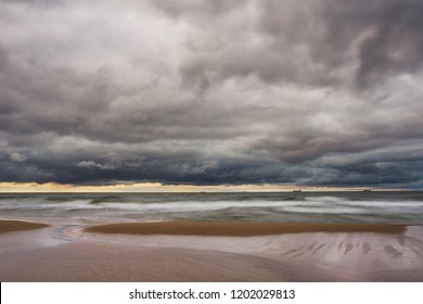 The turbulent Baltic sea before the storm came. - Shutterstock ID 1202029813