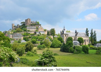 Turenne village in the Corrèze department in France