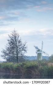 Turf Fen Mill windpump in The Broads.