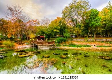 Turgut Ozal Nature Park in Malatya