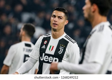 Turin, Italy, 07 December 2018. Campionato Italiano Serie A, Juventus-Inter 1-0. Cristiano Ronaldo, Juventus.
