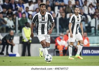 Turin, Italy, 14 September 2016. Football match of Champions League Juventus vs Siviglia 0-0. Mario Lemina, Juventus.