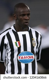 "Turin Italy ,17 September  2003, ""Delle Alpi"" Stadium, UEFA Champions League 2003/2004, FC Juventus- SK Galatasaray: Lilian Thuram during the match"
