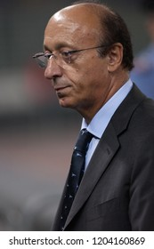 "Turin Italy ,17 September  2003, ""Delle Alpi"" Stadium, UEFA Champions League 2003/2004, FC Juventus- SK Galatasaray:The managing director Luciano Moggi before the match"