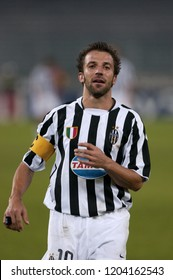 "Turin Italy ,17 September  2003, ""Delle Alpi"" Stadium, UEFA Champions League 2003/2004, FC Juventus- SK Galatasaray: Alessandro Del Piero during the match"