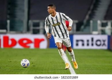 Turin, Italy. 20/09/2020. Italian soccer Serie A Championship. Juventus VS Sampdoria 3-0. Cristiano Ronaldo, Juventus.