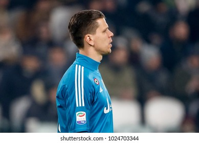 Turin, Italy. 23 December 2017. Campionato Italiano di SerieA, Juventus vs Roma 1-0. Wojciech Szczesny, goalkeeper Juventus.