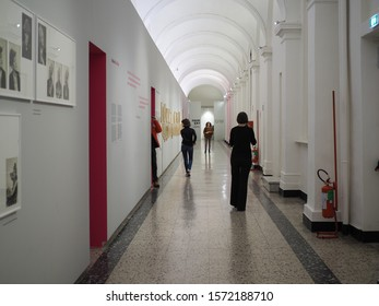 TURIN, ITALY - CIRCA NOVEMBER 2019: Camera Centro Italiano per la fotografia (translation:  Italian centre for photography)