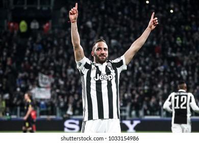 Turin, Italy. February 13, 2018. UEFA Champions League, Juventus - Tottenham 2-2.