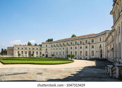 TURIN, ITALY - JULY 22, 2017. Stupinigi Palace , Hunting Residence , top attraction in Turin,  Italy