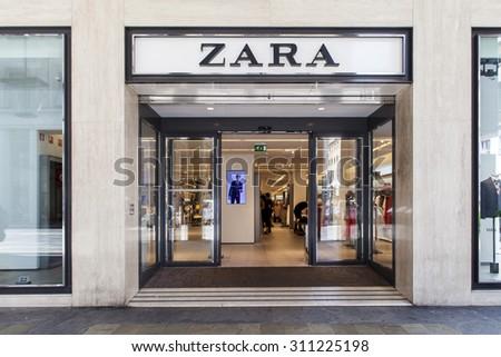 Turin Italy June 3 2015 Zara Stock Photo Edit Now 311225198