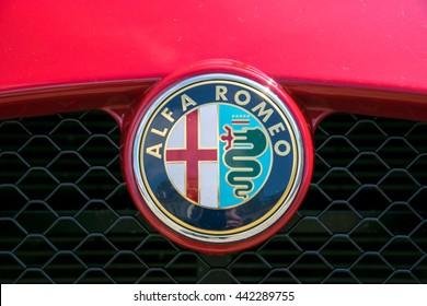 alfa romeo logo images, stock photos & vectors | shutterstock