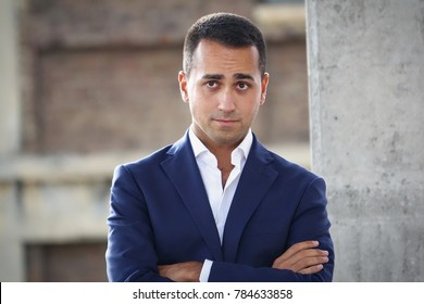 Turin, Italy - September 17, 2017: Luigi Di Maio, political leader of the 5-star movement