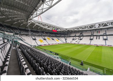TURIN,ITALY - CIRCA SEPTEMBER 2015: FC Juventus official home stadium