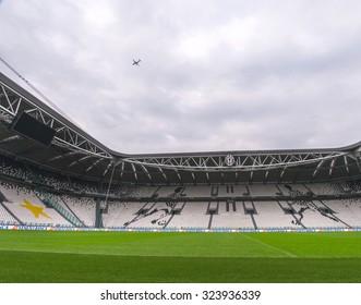 TURIN,ITALY - CIRCA SEPTEMBER 2015: FC Juventus home arena