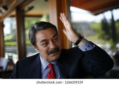İstanbul, Turkey / Turkey - 11.05.2010: Turkish cinema actor Kadir İnanır.