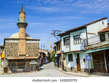 Turkey, Afyonkarahisar, 17 October 2018, up market Mosque and the house view