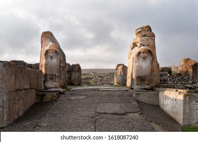 Turkey Alacahoyuk in Corum. The oldest settlement of Chalcolithic age is at Alacahoyuk. It was very important center of cult, art in the bronze and Hittite periods.