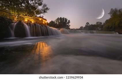 turkey antalya city manavgat waterfall