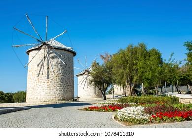 Turkey Cesme Alacati Windmill
