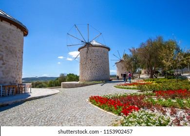 Turkey Cesme Alacati Windmill