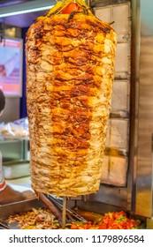 Turkey doner kebab.