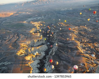 Turkey, Feb. 13, 2019 :  An amazing landscape of Capadocia, Turkey is included in one of the UNESCO World Heritage sites