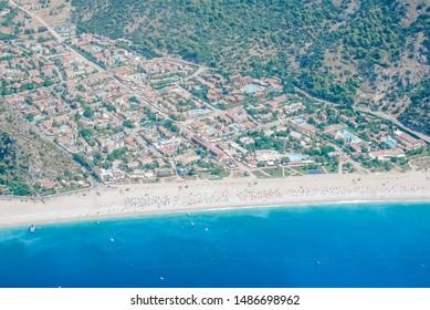 Turkey Fethiye, Oludeniz blue beach