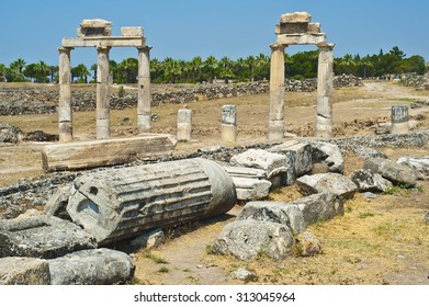 Turkey Hierapolis ruins in Belek