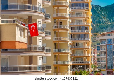 Turkey home concept. Appartment in s luxury tropical resort.