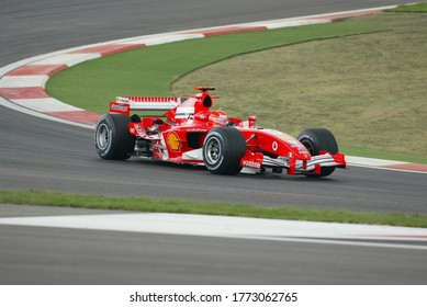 Turkey Istanbul Park Grand Prix was held on August 21, 2005 Michael Schumacher started with Ferrari