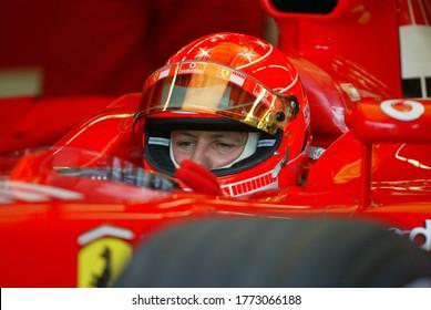 Turkey Istanbul Park Grand Prix was held on August 21, 2005 Michael Schumacher started with Ferrari