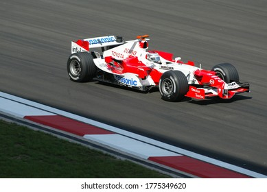 Turkey Istanbul Park Grand Prix held on August 21, 2005 Jarno Trulli of Italy and Toyota